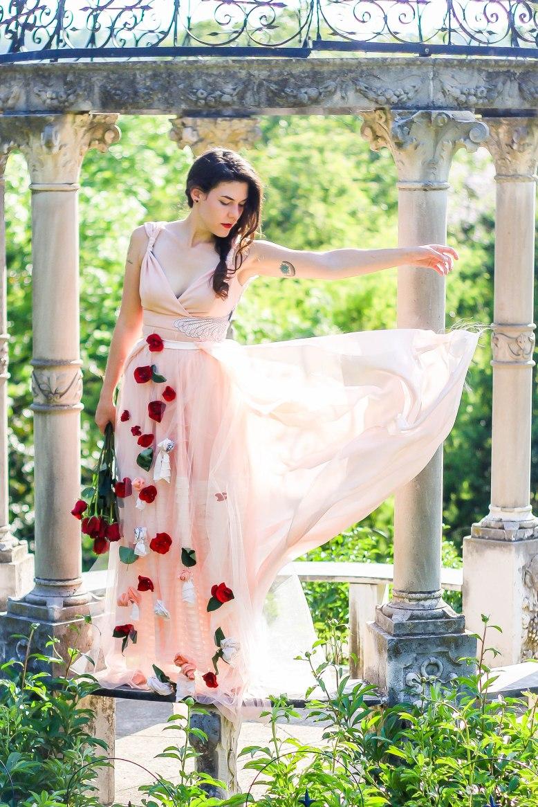 Becka-Pink Dress-Gazebo 4